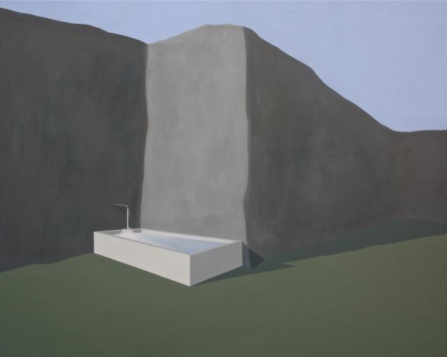 """2011 """"bathtub"""" 155x125"""